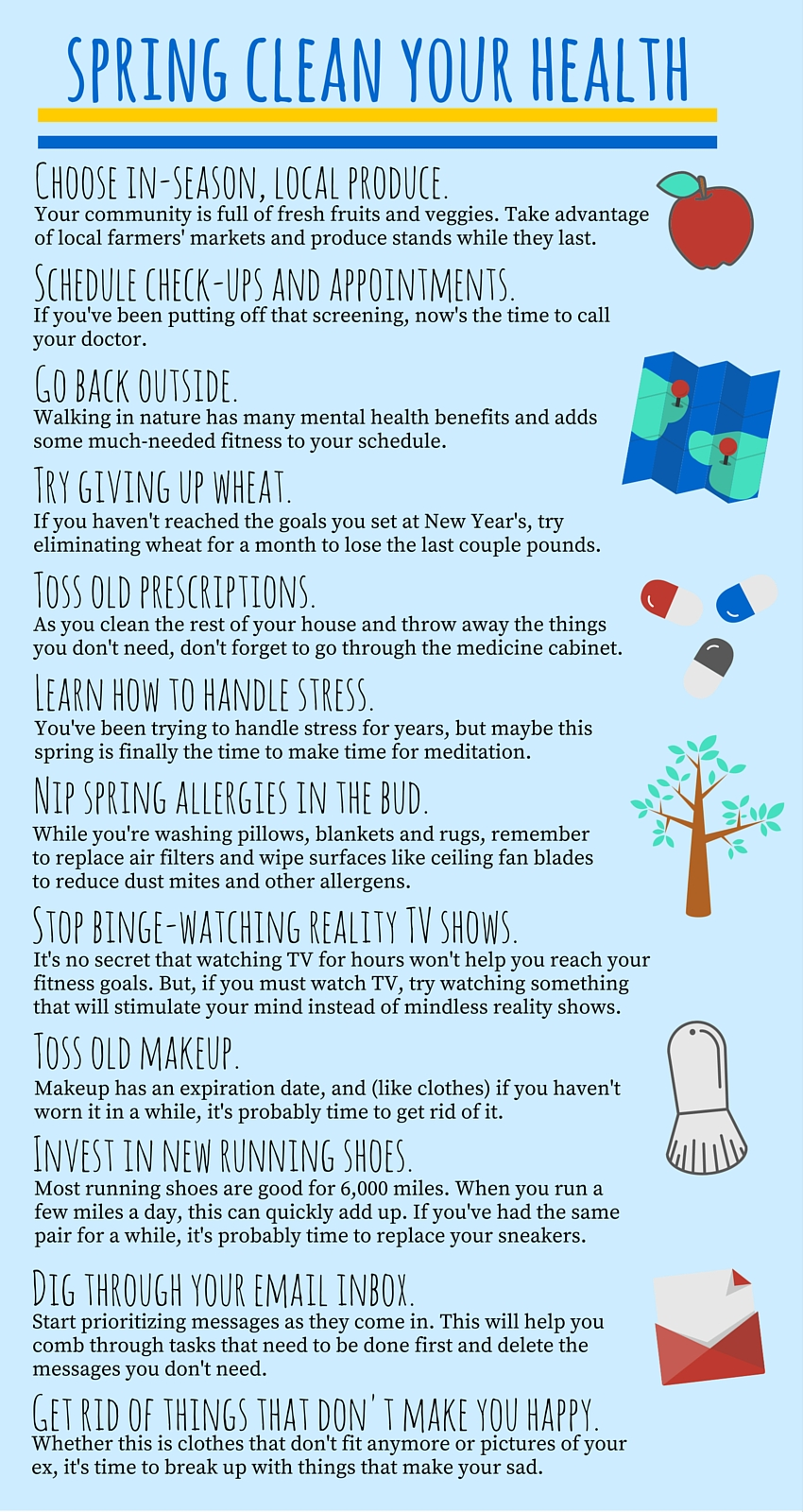 How to spring clean your health