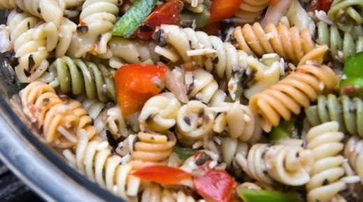 Recipe: Roasted veggie pasta salad