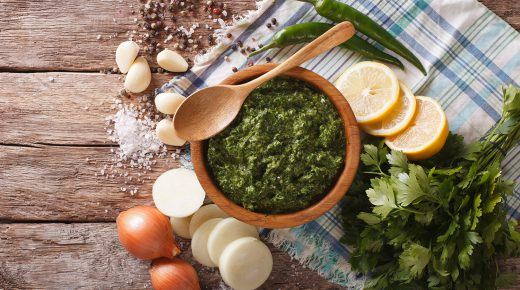Don't Season with Salt, Try Chimichurri