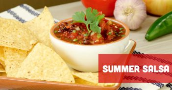 Summer Salsa with Chips