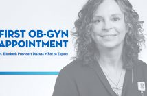 Lisa Downton, thumbnail for First OBGYN appointment video
