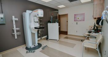 St. Elizabeth Mammogram Machine.