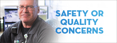 Safety or Quality Concerns